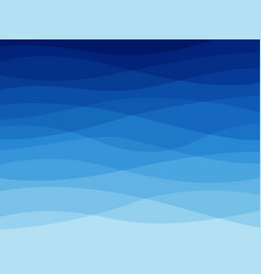 abstract blue wave water waves flowing wavy vector image