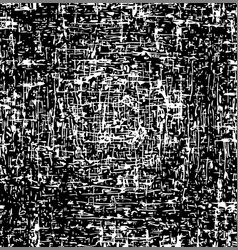 black and white background abstract grunge texture vector image