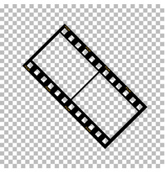 Blank film frame stock vector