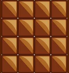 Chocolate bar design vector