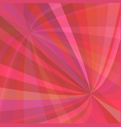 Curved ray burst background - design vector