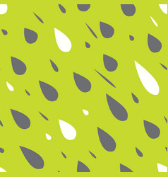 Rain drops seamless pattern vector