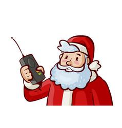 Santa claus christmas xmas concept cartoon vector