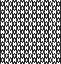 Seamless pattern of geometric tiles with rhombuses vector image
