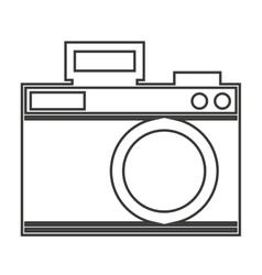 Camera photo shutter vintage vector