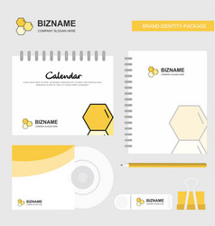 cells logo calendar template cd cover diary and vector image