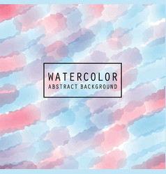 pattern design with watercolor light vector image