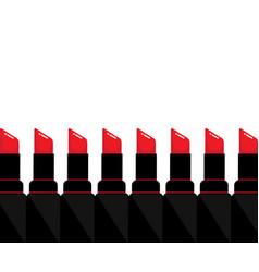 Red lipstick vector