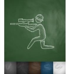 sharpshooter icon vector image