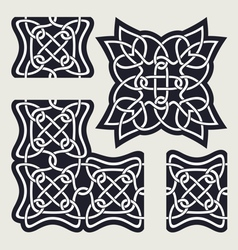 Celtic ornament vector image