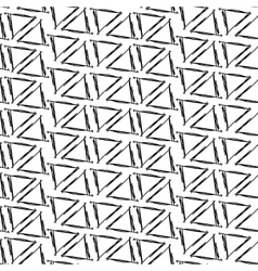 Ink drawing triangles simple background seamless vector image vector image