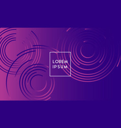 abstract background design with vibrant color vector image