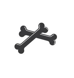 Bone icon vector