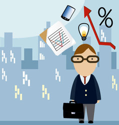 business ideas 3 vector image