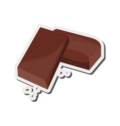 Candy chocolate icon vector