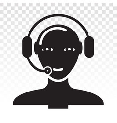 Customer support or services flat icon vector