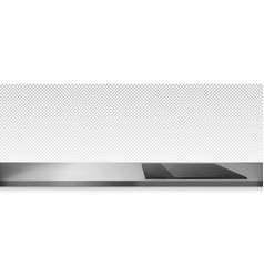 Electric stove induction cooking panel on counter vector