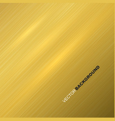 Gold metal texture vector
