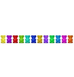 gummy bear vector image