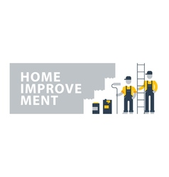 House painting workers construction people vector