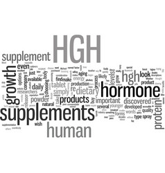 How to easily obtain hgh vector