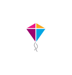 Kite logo vector