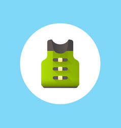 life vest icon sign symbol vector image