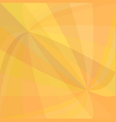 Orange curved ray burst background - design from vector