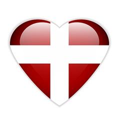Order of Malta flag button vector