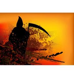 Silhouette reaper vector
