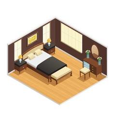 Isometric Luxury Interior vector image vector image