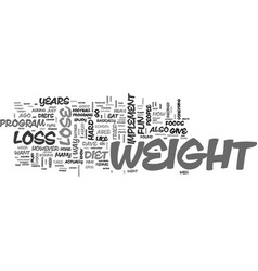a weight loss plan which is fun to implement text vector image