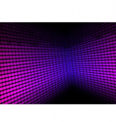 abstract background violet equalizer vector image vector image
