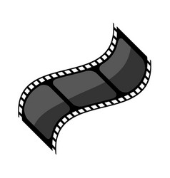 video tape reel icon image vector image