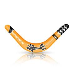 Boomerang tool constructed as flat air foil vector