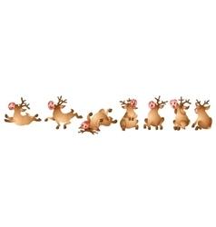 Reindeer Collection vector image