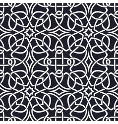 Seamless Celtic patterns vector image
