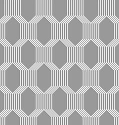 3d white striped braid o gray vector