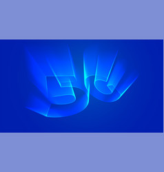 5g technology background with holographic light vector