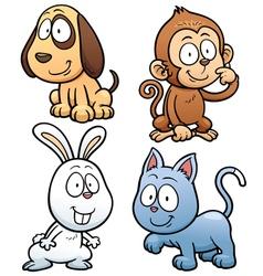 Animals set vector