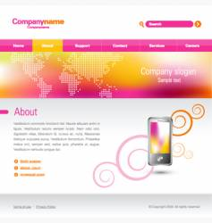 Business website vector