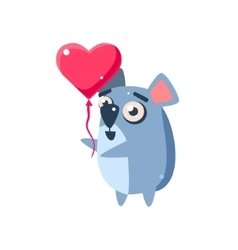 Koala Party Animal Icon vector image