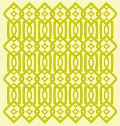 Modern trellis pattern vector image vector image