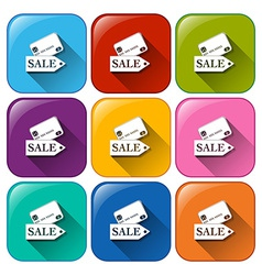 Promotion icons vector image