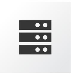server icon symbol premium quality isolated vector image