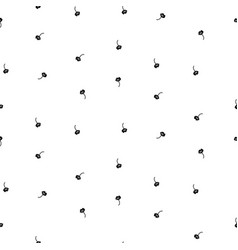tiny simple floral seamless simple pattern vector image