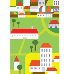 Town Background vector