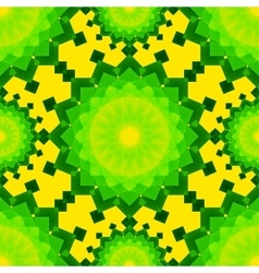 Yellow and green blended transparent rectangles on vector
