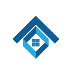 house business logo vector image
