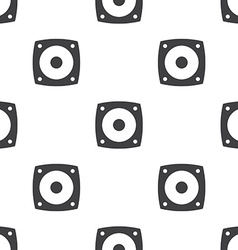 speaker seamless pattern vector image vector image
